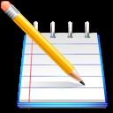 иконка preferences composer, блокнот, карандаш,