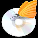 иконки quodlibet, диск, бабочка,
