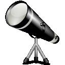 иконка stellarium, подзорная труба, телескоп,