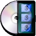иконки totem, видео, диск,