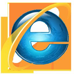 иконка Internet Explorer, интернет эксплорер,