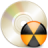 иконка burner, прожиг диска, диск,