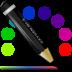 иконки color line, карандаш,
