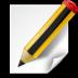 иконка document edit, редактирование документа, редактировать,