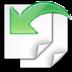 иконка document revert, восстановить,