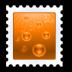 иконки send, марка,