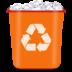 иконка корзина, мусор,