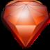 иконка beryl manager, алмаз,