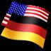 иконки config language, язык, языковые настройки, флаг, флаги, германия, США,