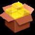 иконка file roller, коробка,