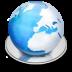 иконка frostwire, интернет, internet, планета,