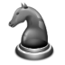 иконки glchess, конь, шахматы,