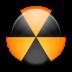 иконка gnomebaker, зона радиации, радиация,