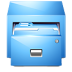 иконка panel drawer, диспетчер файлов,