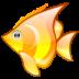 иконка fish, рыба, рыбка,