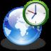 иконки world clock, мировое время, планировщик,