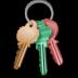 иконки keepassx, ключи,