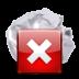 иконка mail mark junk, удалить письмо,