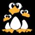 иконки pingus, пингвины, пингвин,