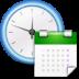 иконки system time, системное время, дата, календарь,