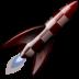 иконка vegastrike, ракета,