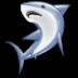 иконки shark, акула, рыба,