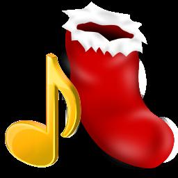 иконки music, музыка, новый год,