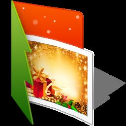 иконки My Pictures, мои изображения, картинки, папка, folder, новый год,