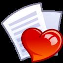 иконки  file, fav, избранное, любимое, сердце, файл,