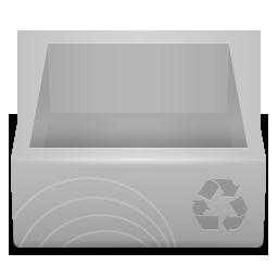 иконка recycle bin, пустая корзина,