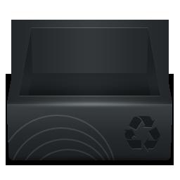 иконки recycle bin, пустая корзина,