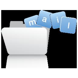 иконки папка, folder, почта, mail, email,