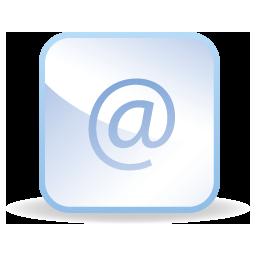 иконки собака, at, почта, email, mail,