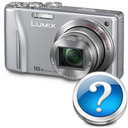 иконки Panasonic Lumix ZS8, фотоаппарат,