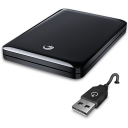 иконки Seagate FreeAgent GoFlex 500GB, scaner, сканер,