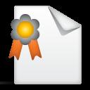 иконка сертификат, грамота,