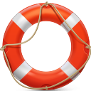 иконка help, помощь, спасательный круг,