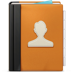 иконка Address book, контакты, адресная книга,