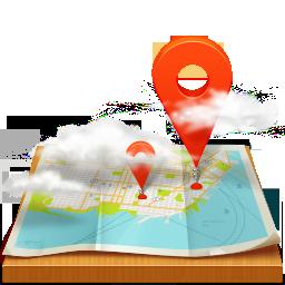 иконки map, карта, карты,
