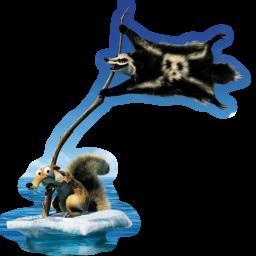иконки Scrat, ледниковый период,