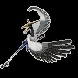 иконка Crane, аист,