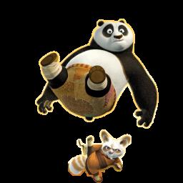 иконки Master Shifu, мастер шифу, панда,