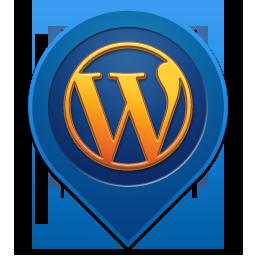 иконка wordpress, вордперсс,