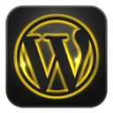 иконка wordpress, вордперсс,