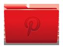 иконки pinterest, пинтерест, folder, папка,
