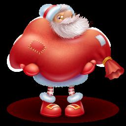 иконки santa gift, новый год, подарки, дед мороз, рождество, Christmas, санта клаус, санта,