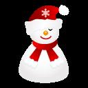 иконки sleepy, snowman, снеговик, новый год,