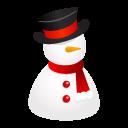 иконки snowman, hat, снеговик, новый год,