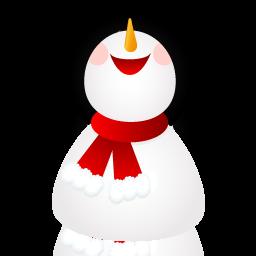 иконки smiling, snowman, снеговик, новый год,