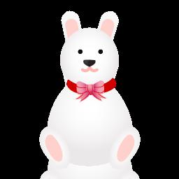иконка rabbit, животные, amimal, кролик,
